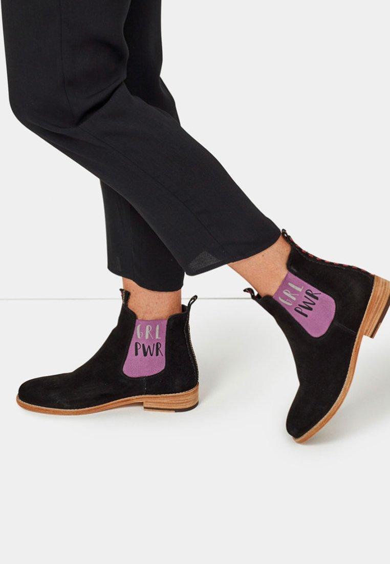 Crickit - JULIA MIT GRL PWR - Ankle boots - black
