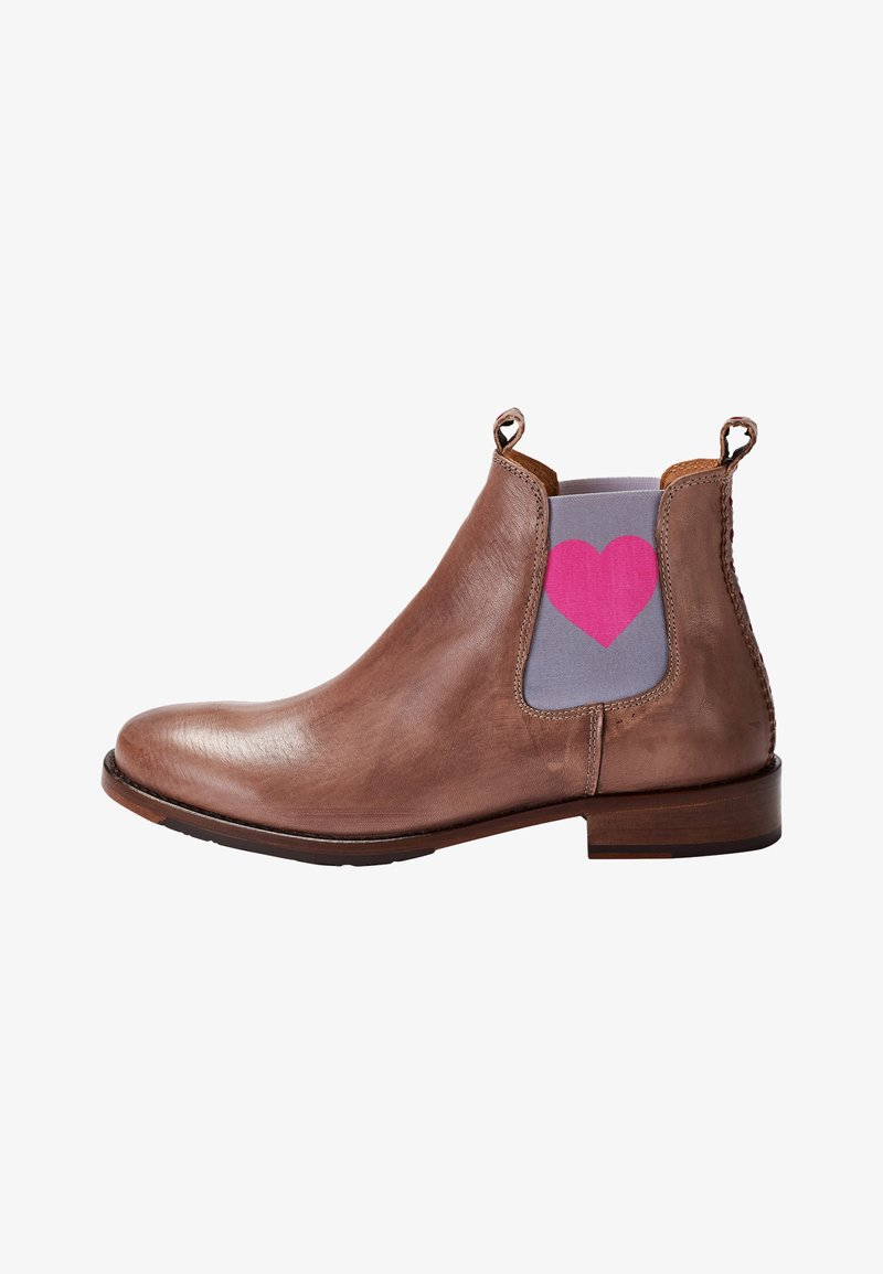 Crickit - MIT HERZ - Classic ankle boots - taupe