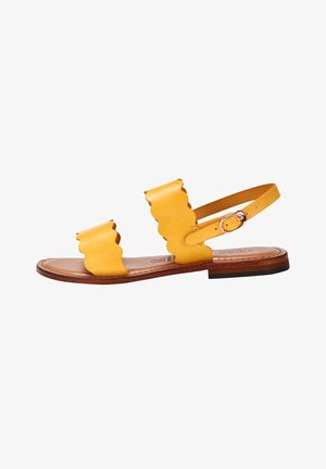 SANDALE MAYA - Sandaler - gelb