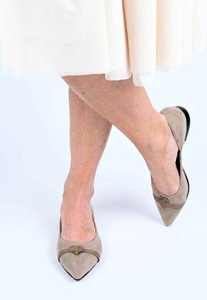 JASMINA - Ballet pumps - taupe