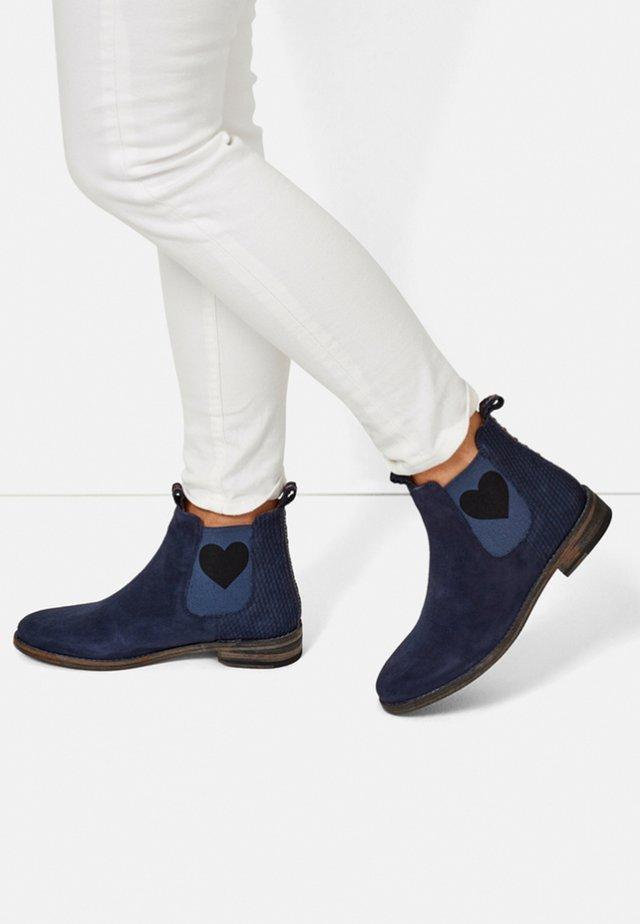 JULIA - Ankle boots - blue