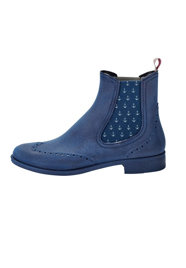 CHELSEA BOOT LILI MIT ANKERN - Classic ankle boots - blau