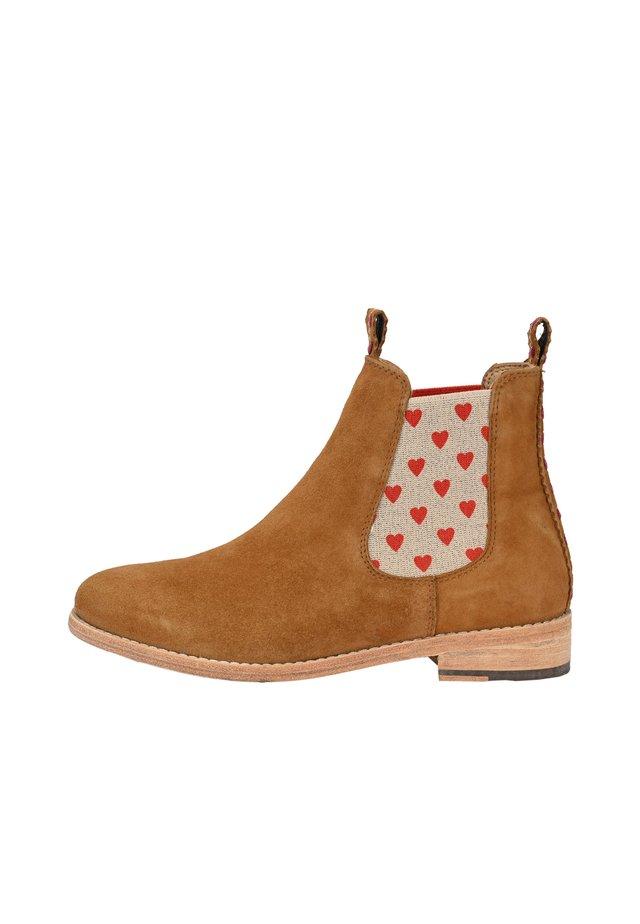 JULE - Ankle boots - cognac