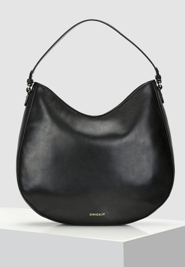 HOBO BAG CARISSIMA - Handbag - black