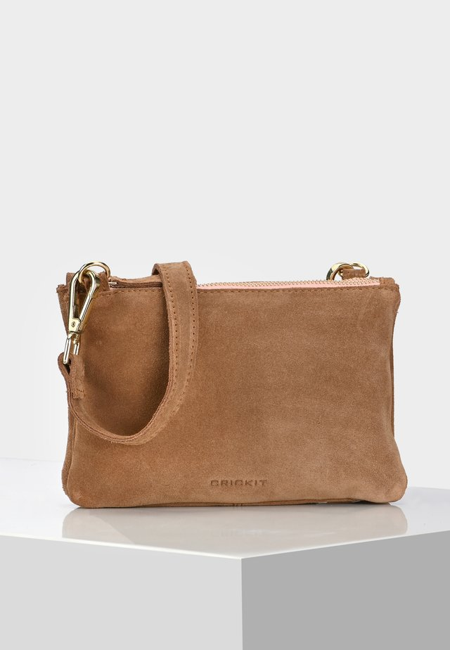 DUO BAG CAROL - Across body bag - cognac