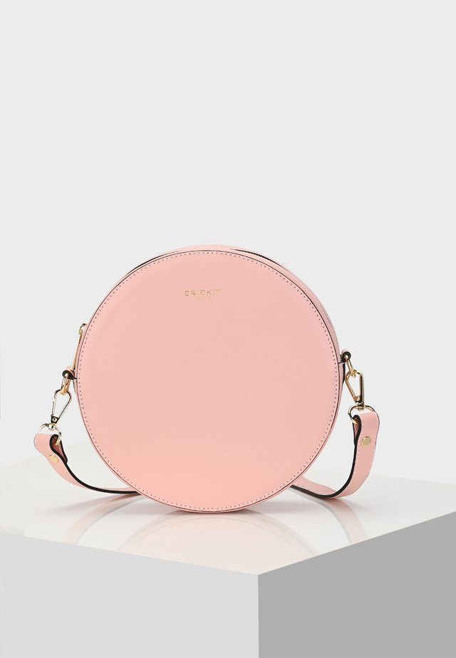 ROUND BAG CAPRI ROUND BAG - Across body bag - rose