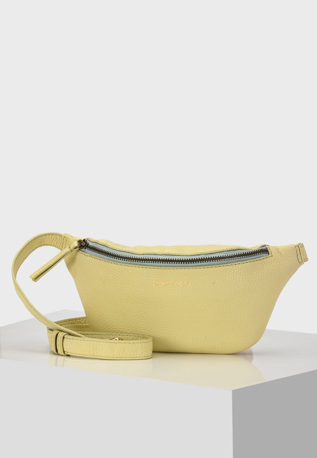 GÜRTELTASCHE DANY BELT BAG GÜRTELTASCHE - Bum bag - yellow