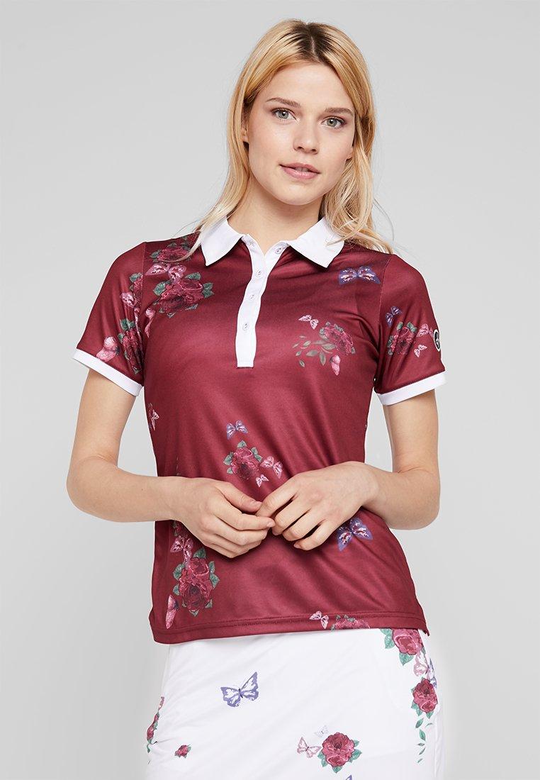 Cross Sportswear - FLOWER - Sportshirt - rumba red