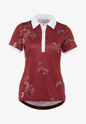 FLOWER - Sportshirt - rumba red