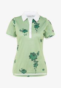Cross Sportswear - FLOWER - Sportshirt - mineral green - 3