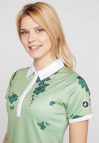 Cross Sportswear - FLOWER - Sportshirt - mineral green - 4