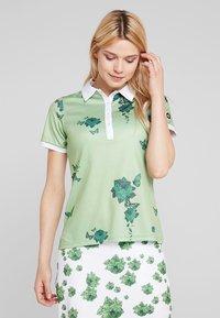 Cross Sportswear - FLOWER - Sportshirt - mineral green - 0