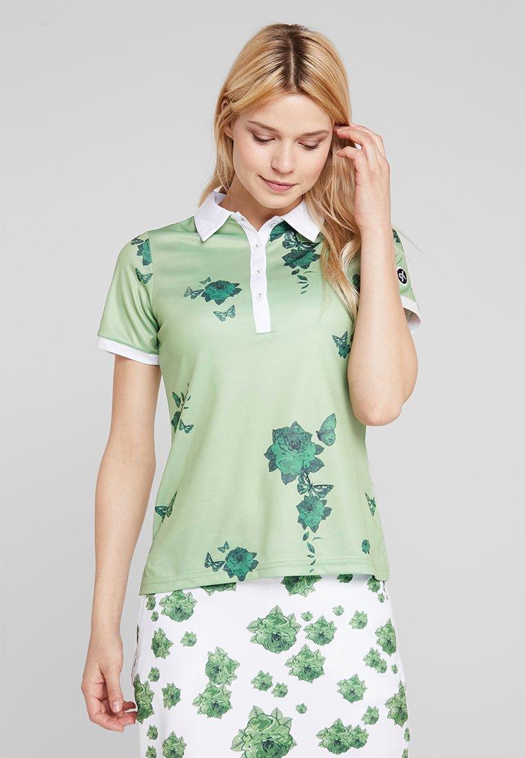 Cross Sportswear - FLOWER - Sportshirt - mineral green