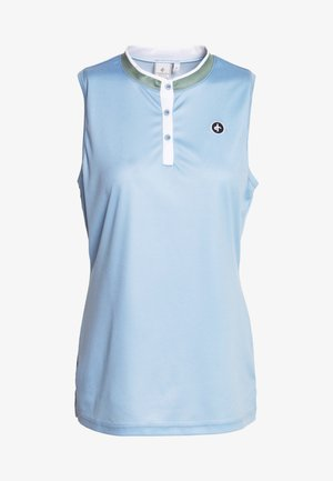 SALLY SOLID - Polo shirt - forever blue