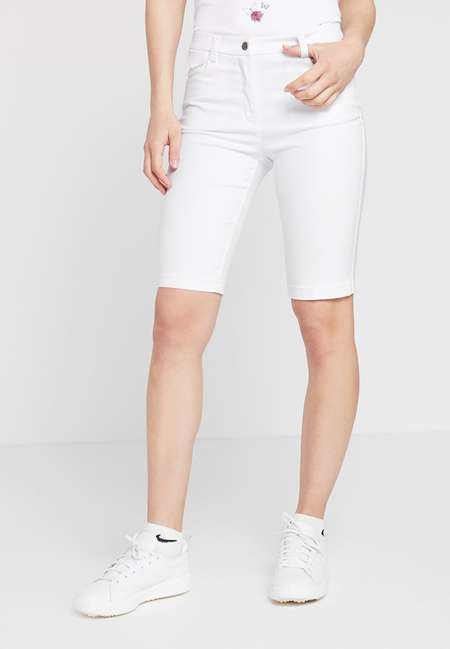 SHORTS - Urheilushortsit - white