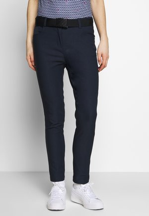STRETCH PANTS - Pantaloni - navy