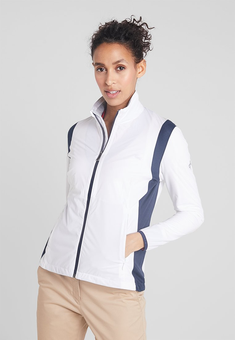 Cross Sportswear - HURRICANE JACKET - Waterproof jacket - white