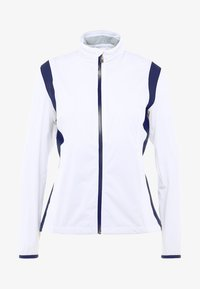 Cross Sportswear - HURRICANE JACKET - Waterproof jacket - white - 5