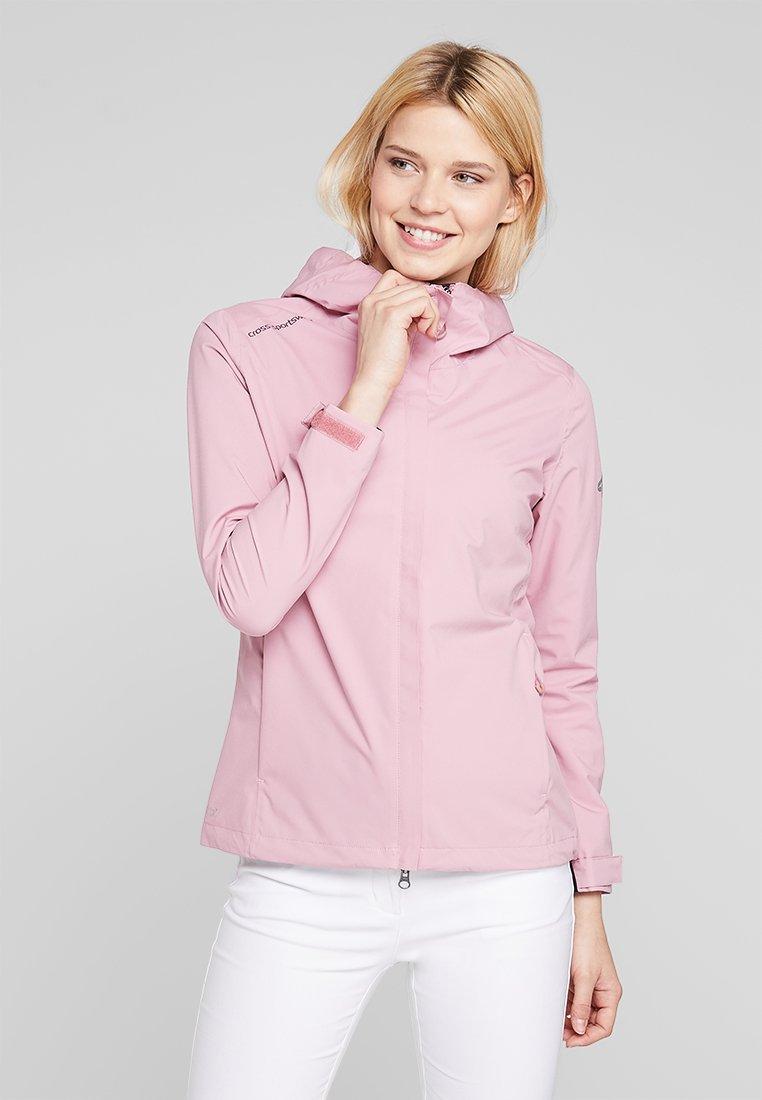 Cross Sportswear - MIST JACKET - Chaqueta outdoor - old pink