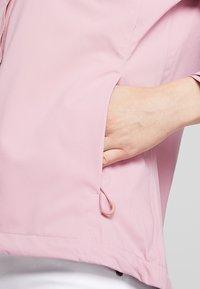 Cross Sportswear - MIST JACKET - Chaqueta outdoor - old pink - 5