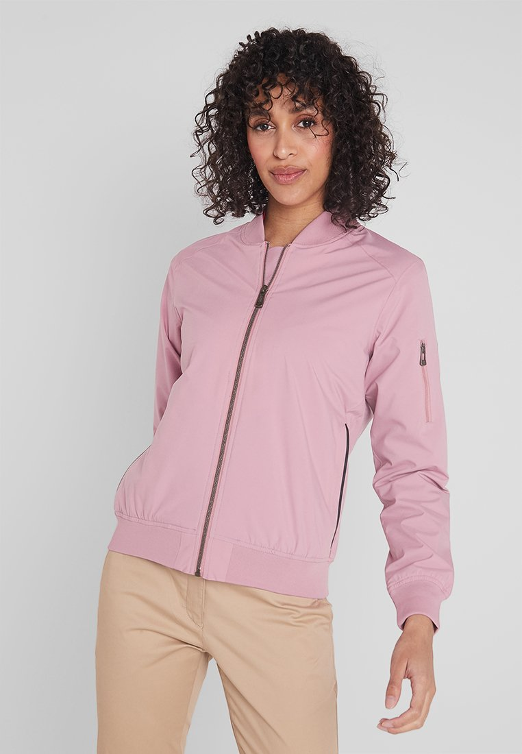 Cross Sportswear - BOMBER JACKET - Impermeabile - old pink