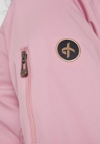 Cross Sportswear - BOMBER JACKET - Impermeabile - old pink - 5