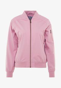Cross Sportswear - BOMBER JACKET - Impermeabile - old pink - 4