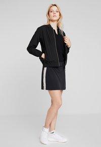 Cross Sportswear - BOMBER JACKET - Regenjas - black - 1