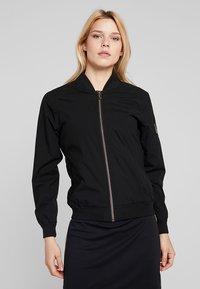 Cross Sportswear - BOMBER JACKET - Regenjas - black - 0