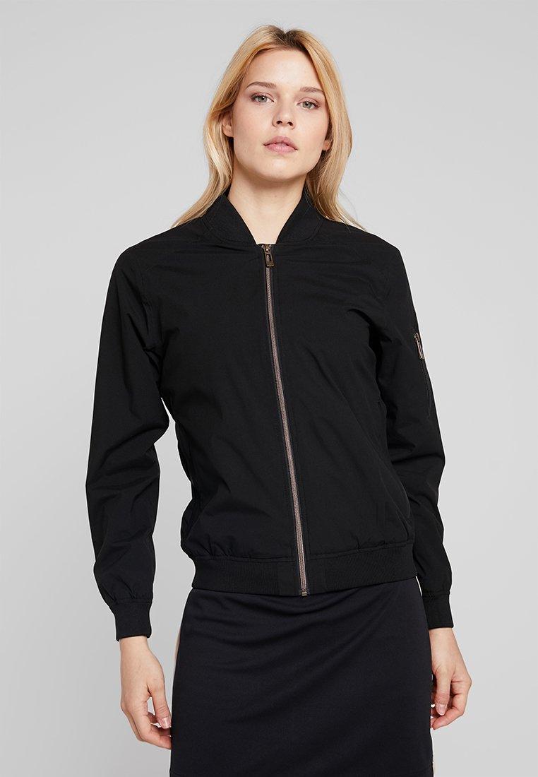 Cross Sportswear - BOMBER JACKET - Regenjas - black