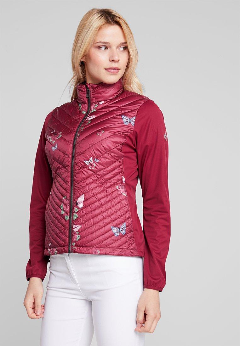 Cross Sportswear - UTILITY JACKET - Daunenjacke - rumba red