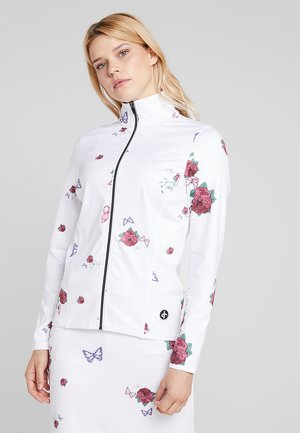 TECH FULL ZIP - Giacca sportiva - white