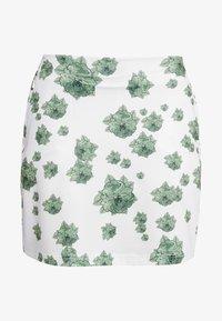 Cross Sportswear - FLOWER SKORT - Rokken - mineral green - 5