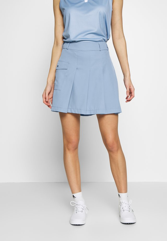PLEAT SKORT - Sportkjol - forever blue