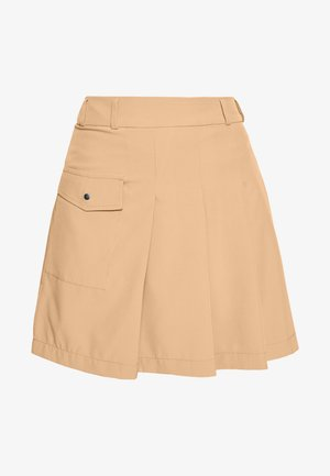PLEAT SKORT - Gonna sportivo - deep birch