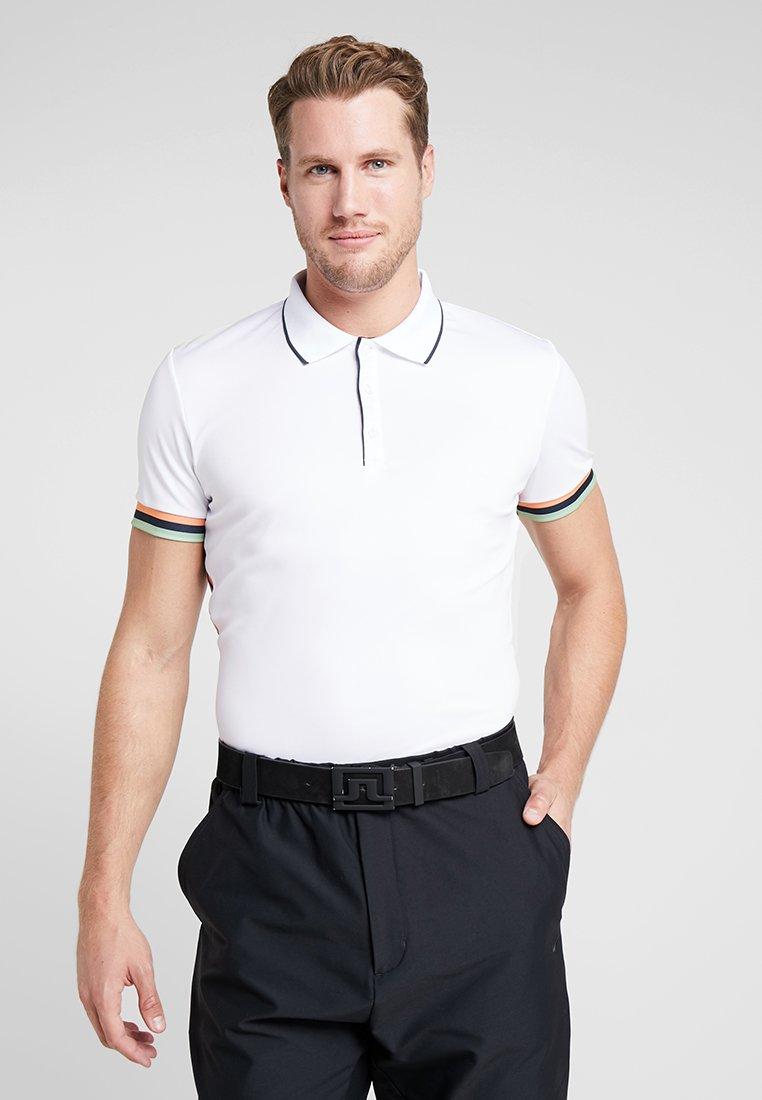 Cross Sportswear - GEO STRIPE - Poloshirt - white