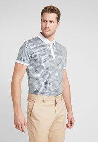 Cross Sportswear - GLENCHECK - Sportshirt - mineral green - 0