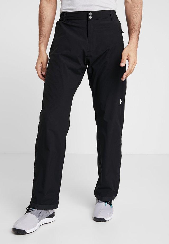 CLOUD PANTS REGULAR - Pantalones montañeros largos - black