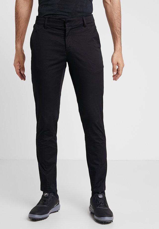 SLENDER - Chino kalhoty - black