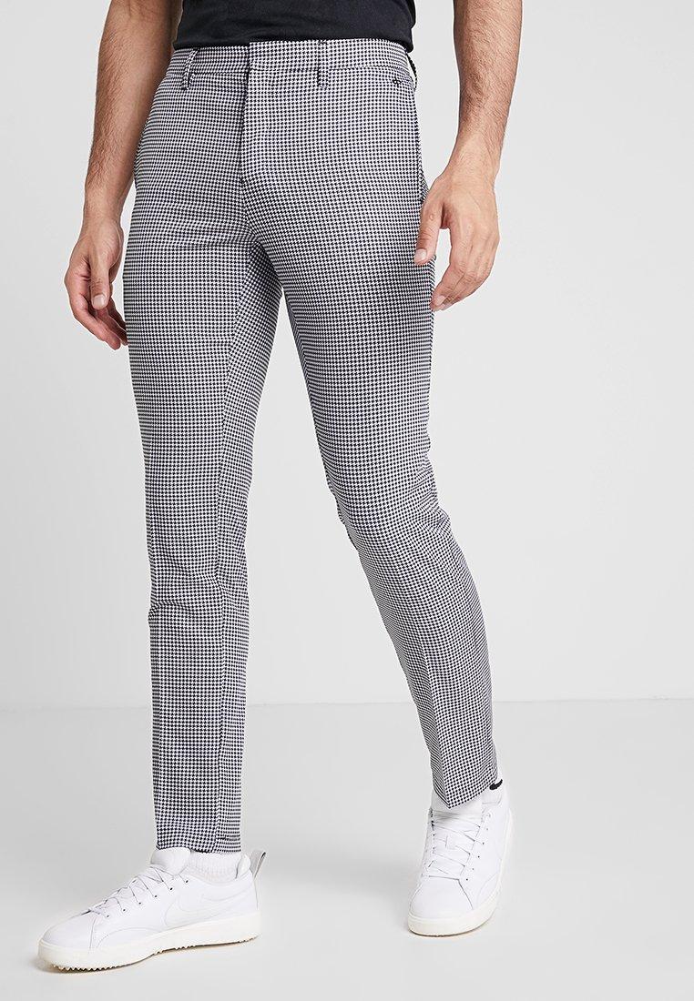Cross Sportswear - BYRON HOUND TOOTH - Chinos - white