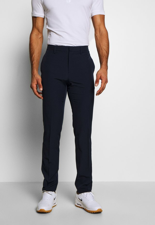 BYRON SOLID - Trousers - navy