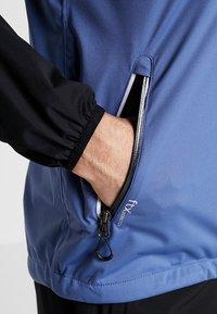 Cross Sportswear - HURRICANE JACKET - Vodotěsná bunda - bijou blue - 5