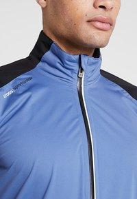 Cross Sportswear - HURRICANE JACKET - Vodotěsná bunda - bijou blue - 4