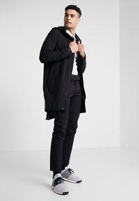 Cross Sportswear - RAIN COAT - Parka - black - 1