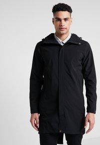 Cross Sportswear - RAIN COAT - Parka - black - 0