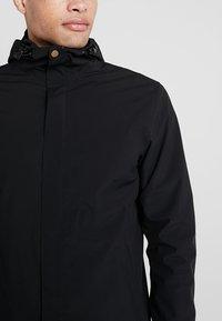 Cross Sportswear - RAIN COAT - Parka - black - 4