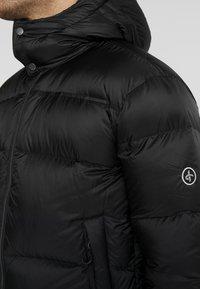 Cross Sportswear - HOODIE - Winterjas - black - 4