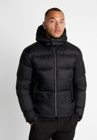 Cross Sportswear - HOODIE - Winterjas - black - 0