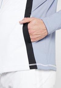 Cross Sportswear - CALI FULL ZIP - Fleecová bunda - stonewash - 5