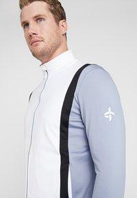 Cross Sportswear - CALI FULL ZIP - Fleecová bunda - stonewash - 3